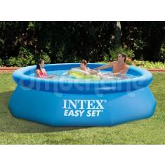 Piscina  Intex Easy Set cu inel gonflabil 305 x 76cm. 28122 7 in 1