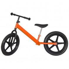 Bicicleta fara pedale Midi pentru copii intre 4-8 ani, portocaliu