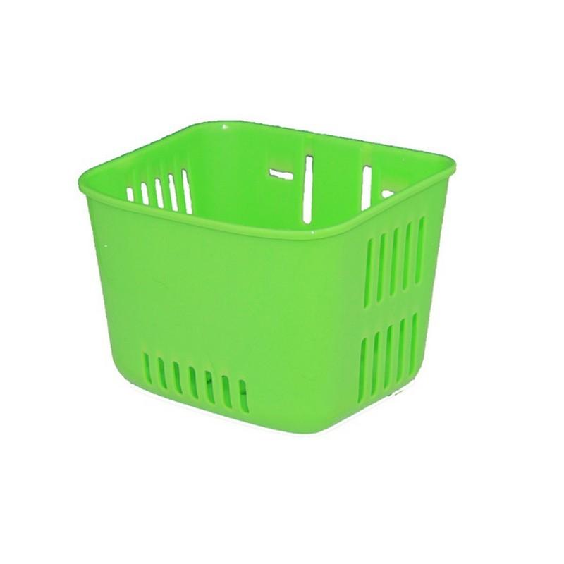 Cos pentru bicicleta de copii, verde