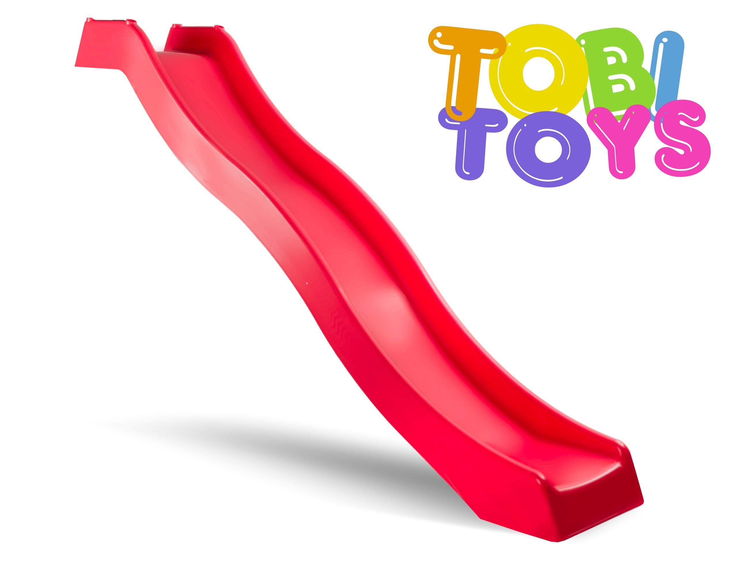 Tobogan Tobi Toys 3 m Rosu