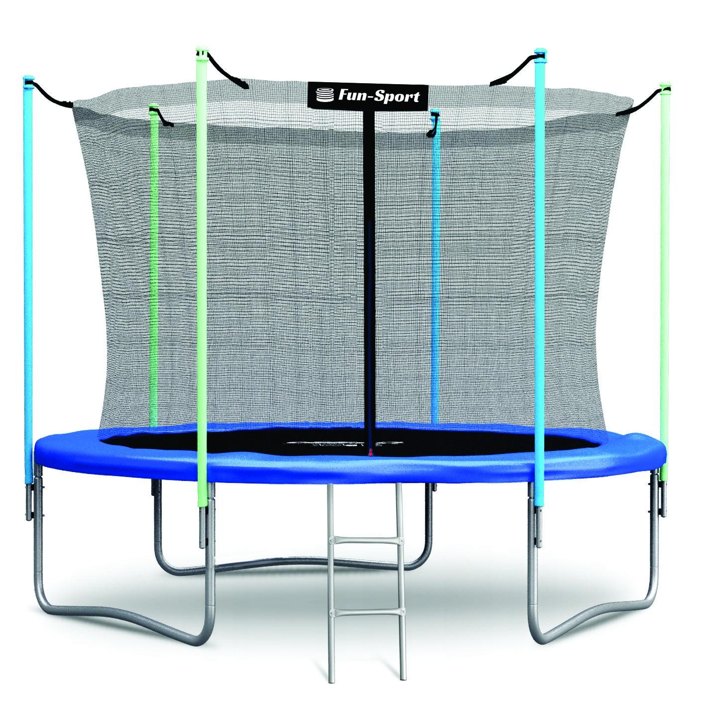 Trambulina 252 cm Fun-Sport cu plasa de siguranta si scara