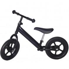 Bicicleta fara pedale neagra