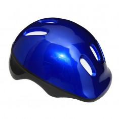 Casca de protectie pentru copii, albastru-inchis