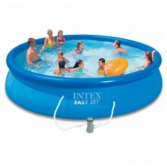 Intex Piscina Easy Set 3 in 1 457x84 cm 28158