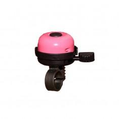 Sonerie roz pentru bicicleta de copii