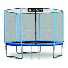 Trambulina 252 cm Fun-Sport cu plasa de siguranta exterioara