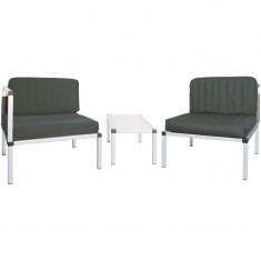 Set fotolii de gradina - terasa - lounge - Living, scaune cu masuta
