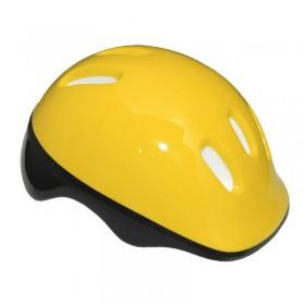 Casca de protectie pentru copii, galben