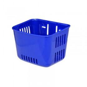 Cos pentru bicicleta de copii, albastru inchis