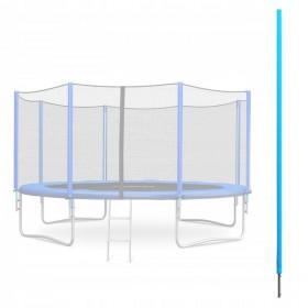 Stalp pentru Trambuline cu plasa exterioara Fun-Sport cu diamtru de la 252 pana la 465 cm
