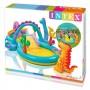 Piscina gonflabila Intex Dinoland 57135NP pentru copii 333 x 229 x 112 cm